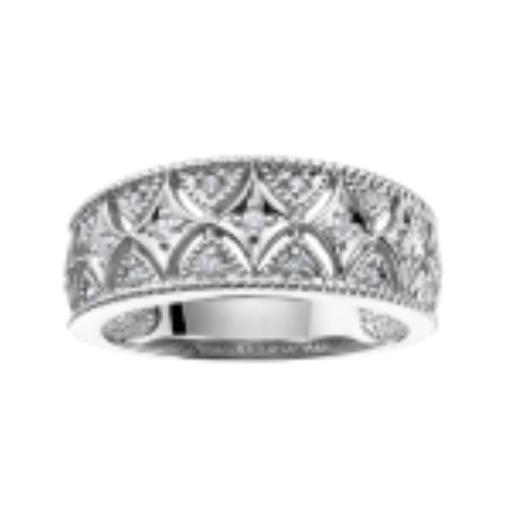 Jonc à diamants fancy et original