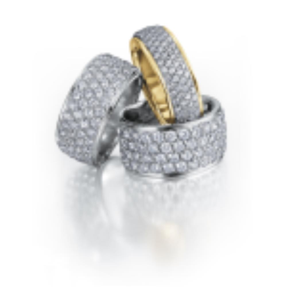 Jonc à diamants